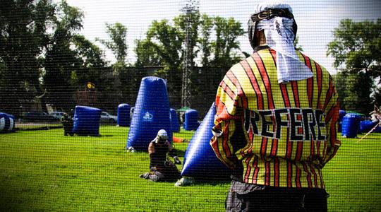 Тренировки по пейнтболу