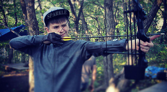 Стрельба из подросткового лука